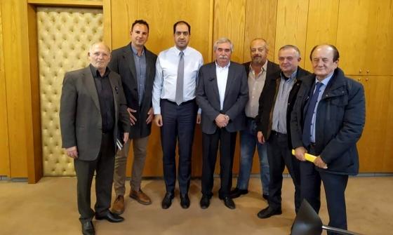 Συνάντηση Προεδρείου της Π.Ο.Ε.Ι.Α.Τ.Α., με τον Υφυπουργό Μεταφορών κ. Κεφαλογιάννη